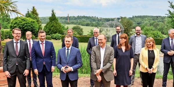 Sachsens Regierung trifft sich zur Haushaltsklausur in Dresden