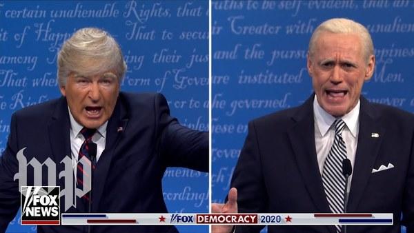 Jim Carrey und Alec Baldwin spielen Biden vs. Trump