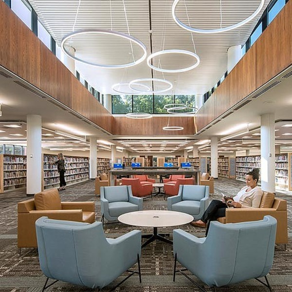 Design Ideas for the Post-Pandemic Public Library | Dialogue Blog | Research & Insight | Gensler