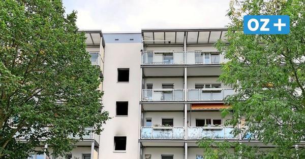 Wismar-Friedenshof: Brand in Mehrfamilienhaus – Verdacht auf Brandstiftung