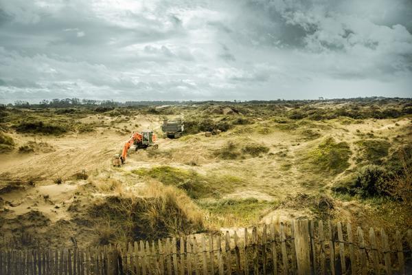 Les dunes peuvent à nouveau bouger - Het stuift weer in de duinen