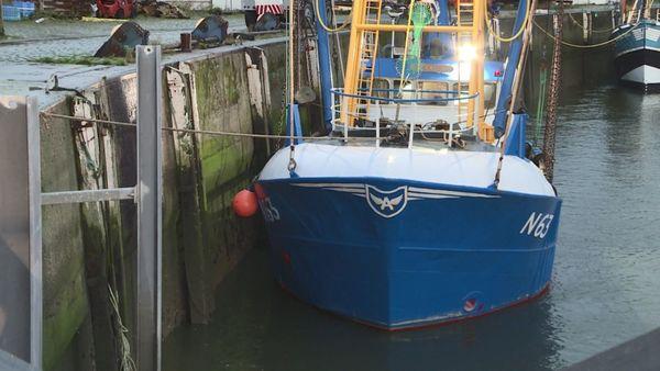 Le nouveau bateau de pêche, un atout pour le marché aux poissons de Nieuport. - Nieuw vissersschip is aanwinst voor vismijn Nieuwpoort