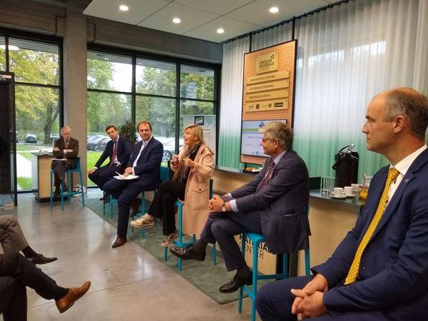 Ouverture du Centre des matériaux circulaires à Courtrai - Circular Materials Center geopend in Kortrijk
