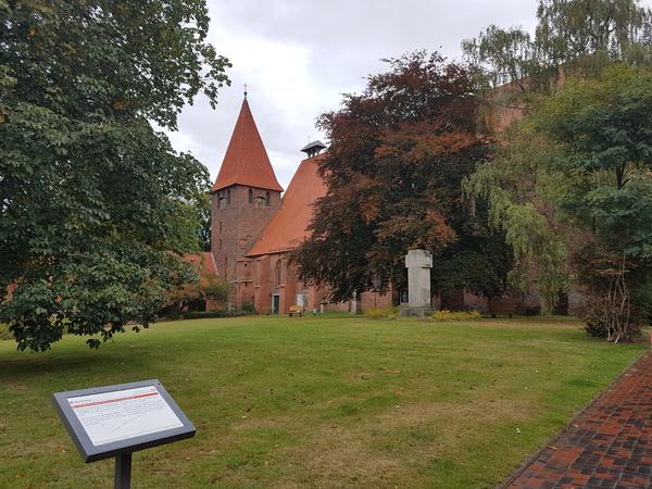 Im Ebstorfer Heidekloster befindet sich unter anderem eine originalgetreue Weltkarte des 13. Jahrhunderts. (Foto: Bernd Haase)