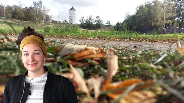 LVZ-Reporterin Lisa Schliep wandert einmal rund um die Messestadt. Fotos: Kempner / Schliep