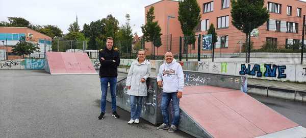 Graffiti Jam im Skaterpark Bad Doberan  (Foto: Stadt Bad Doberan)