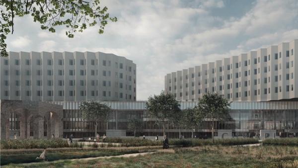 Tournai : le nouveau site hospitalier unique du CHwapi sera achevé en 2023 - Nieuw ziekenhuis klaar in 2023