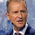 HauptversammlunG: VW-Chef Herbert Diess bekräftigt eingeschlagenen Weg