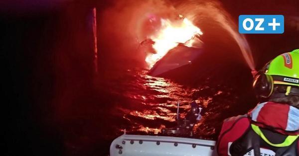 Feuer an Bord einer Segelyacht – Skipper rettet sich auf Insel Bock in der Ostsee