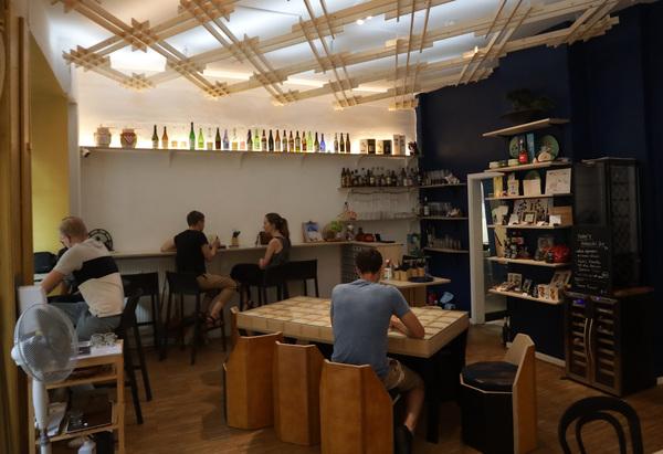 Restaurant Tokyo Cafe in der Kolonnadenstraße in Leipzig. Foto: Andre Kempner
