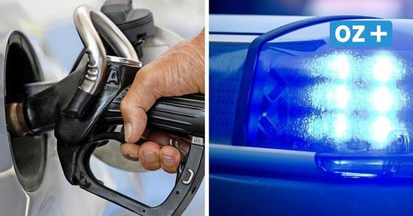 Getankt und nicht bezahlt auf A 20 bei Glasin: Polizei schnappt Sprit-Diebe nach gut 60 Kilometern