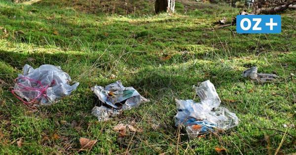 Achtlos entsorgter Müll sorgt für Ärger auf Urlaubsinsel Rügen