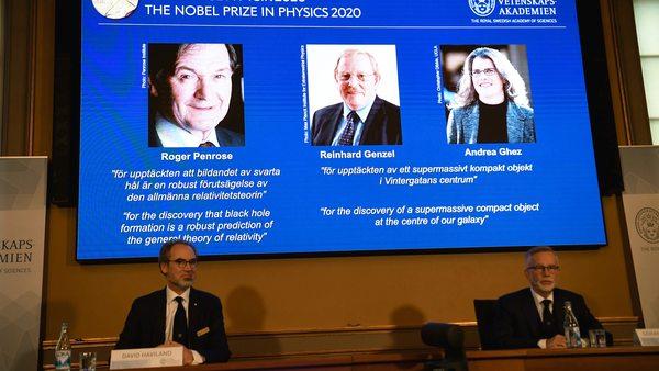 Reinhard Genzel Nobelpreisträger: Deutscher Astrophysiker erhält Nobelpreis für Physik
