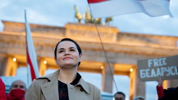 """Tichanowskaja bei Merkel: """"Eine Einladung, die man nicht ausschlägt"""""""