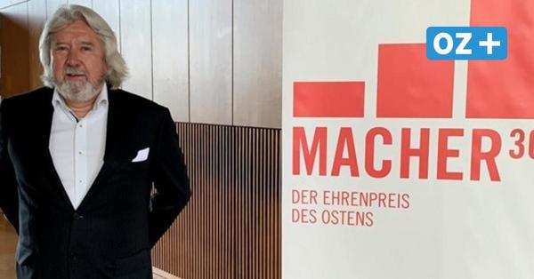 """Schönberg: Uwe Blaumann bekommt""""Ehrenpreis des Ostens"""""""
