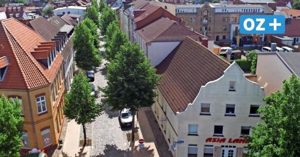 Als die Wismarsche Straße in Grevesmühlen ein neues Gesicht erhielt