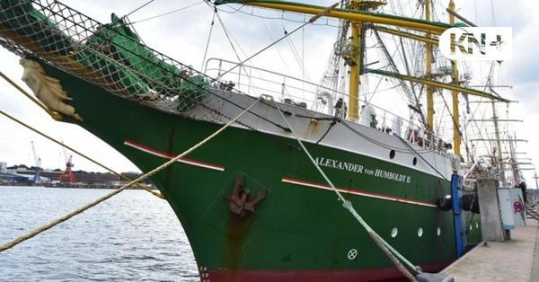 """""""Alexander von Humboldt II"""" liegt bis Februar in Kiel"""