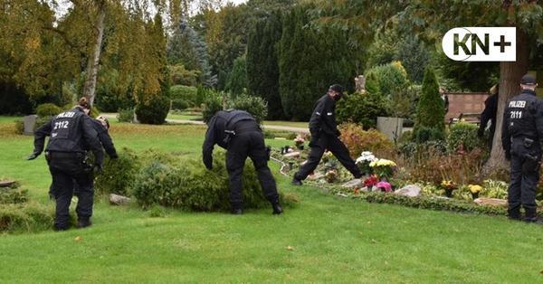 Rendsburg: Polizei sucht Beweismittel auf Friedhof