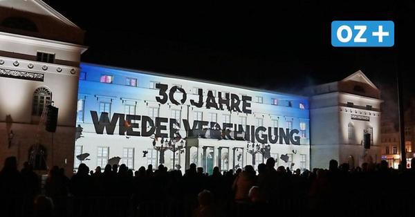 So war die Show zum Tag der Deutschen Einheit auf dem Wismarer Markt