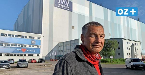 """30 Jahre auf Werft in Wismar: """"Das hätte ich damals nie gedacht"""""""