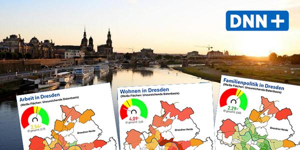 Familienkompass 2020: Tolles Umfeld, hohe Mieten – Was die Dresdner an ihrer Stadt mögen und was nicht