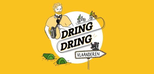 """DaarDaar lance """"Dring Dring"""", le podcast qui vous fait découvrir la Flandre à vélo - Nieuwe podcast laat Franstaligen Vlaanderen op andere wijze ontdekken"""