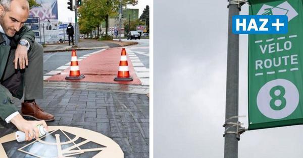 Velorouten: Diese Markierungen zeigen Radfahrern künftig den Weg