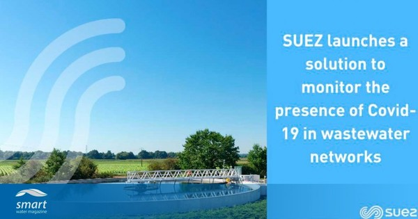 Suez launches solution to monitor SARS-CoV-2 virus in wastewater networks