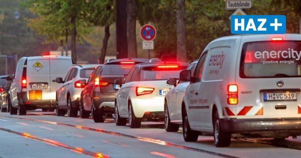 Üstra-Streik: Hannovers Autofahrer stecken im Stau fest