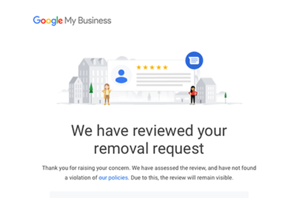 How To Get A (whacko) Google Review Removed
