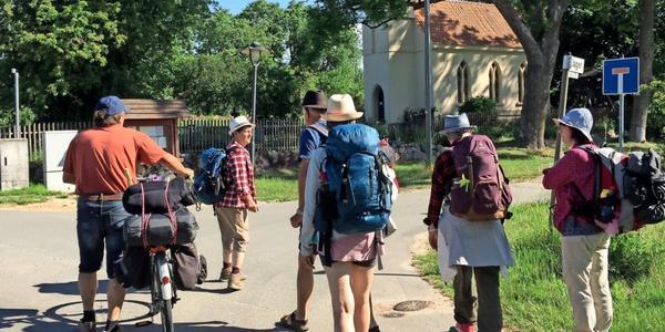 Von Stahlbrode nach Jager: Sabine Petters lädt Samstag zur  Pilgertour ein