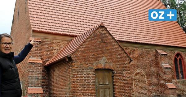 Freude auf Usedom: Die Netzelkower Kirche hat ein neues Dach bekommen