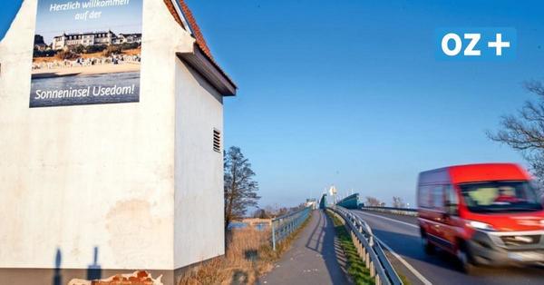 Staugefahr auf Usedom: B 110 über Zecheriner Brücke wird erneuert