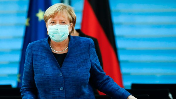 Corona: Wie soll es weitergehen? Merkel berät mit Bürgermeistern der großen Städte