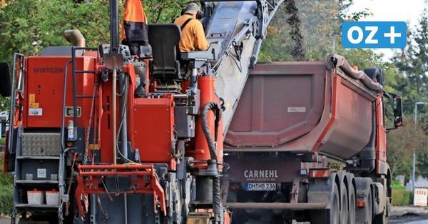 Wolgast: Erster Abschnitt der Zufahrt in den Tannenkamp wird saniert