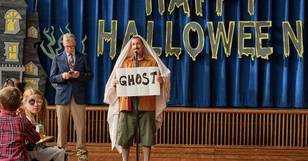 Adam Sandler sinks to new lows in dismal 'Hubie Halloween'