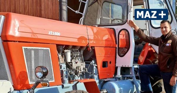 Auferstanden aus Ersatzteilen: Pritzerber verhilft DDR-Traktor zu einem zweiten Leben