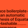 Reduce Boilerplate Code With An Automatic Synthesis Of Equatable And Hashable Conformance