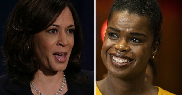 Pride and politicking as Foxx, Stratton, Kelly, Yarbrough watch 'history maker and a glass ceiling breaker'