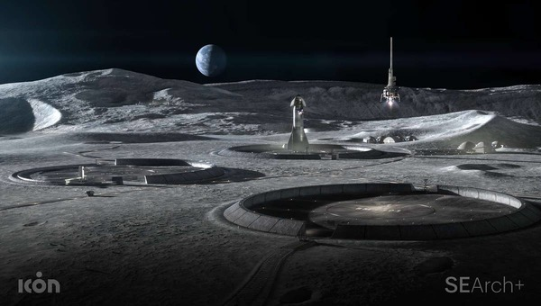 NASA turns to 3D printing for space-based landing pads, roads, and habitats for Moon and Mars