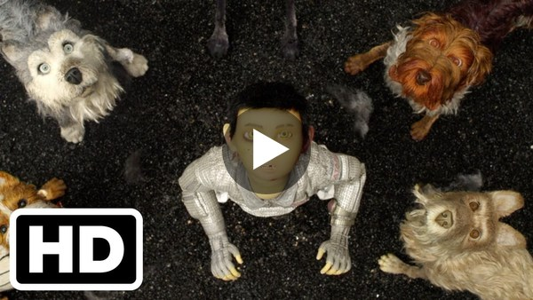 Isle of Dogs - Trailer #1 (2018) Wes Anderson