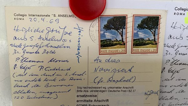 ,,, die Postkarte, die mit 51 Jahren Verspätung doch noch angekommen ist