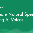 Realistic Text to Speech AI Voice Generator with 260+ Voices
