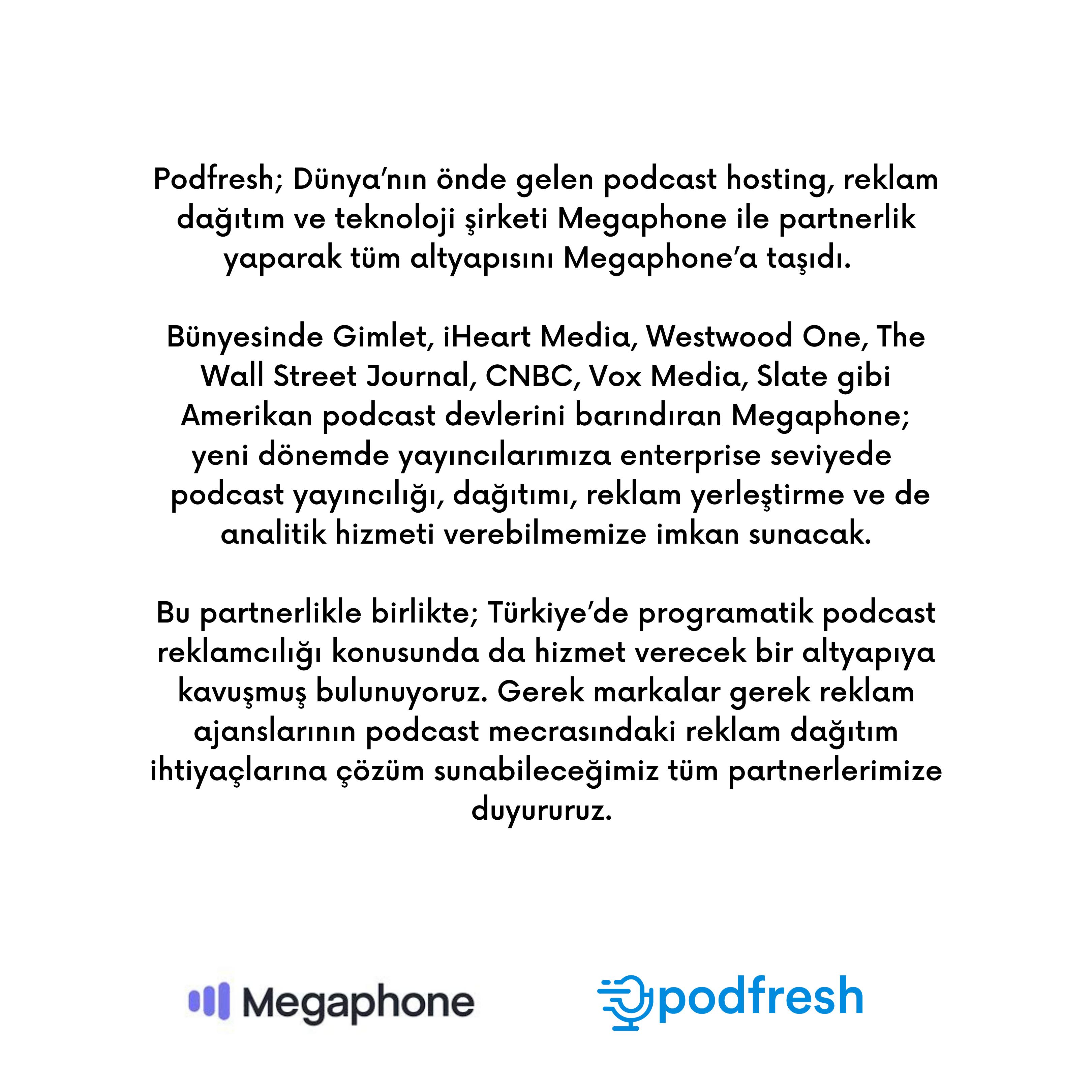 Podfresh & Megaphone