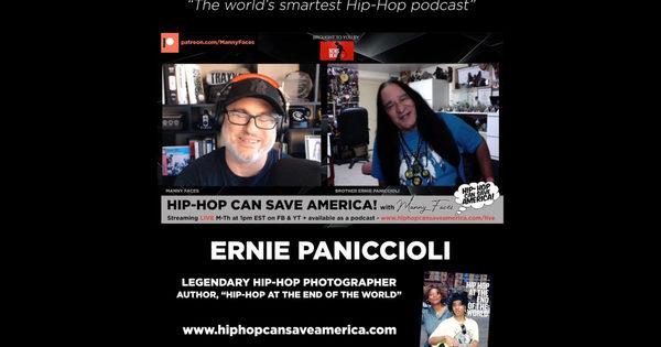 Legendary Hip-Hop Photographer, Ernie Paniccioli