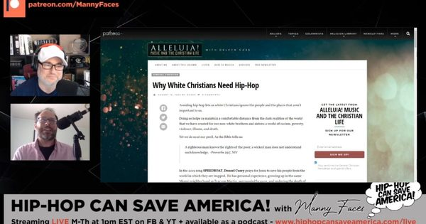 'Why White Christians Need Hip-Hop' with Delvyn Case