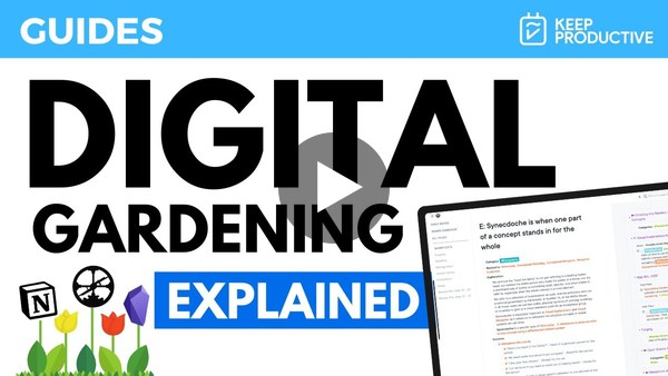 Digital Gardening: Explained