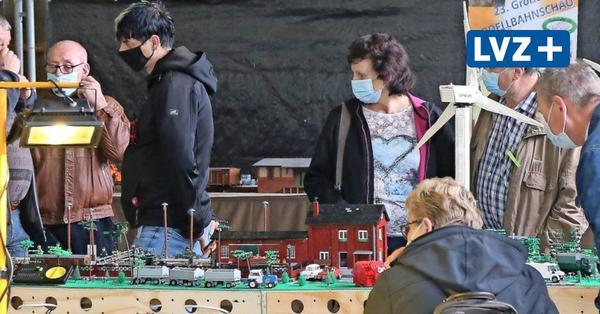 Große Augen an kleinen Bahnen: Modellbauer zeigen in Meuselwitz ihre Schätze