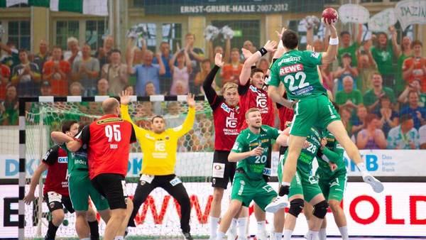 SC DHfK Leipzig ringt und kämpft mit Füchsen Berlin zum Unentschieden