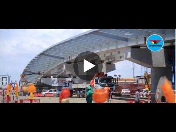 Works on Obetsebi-Lamptey interchange progresses steadily
